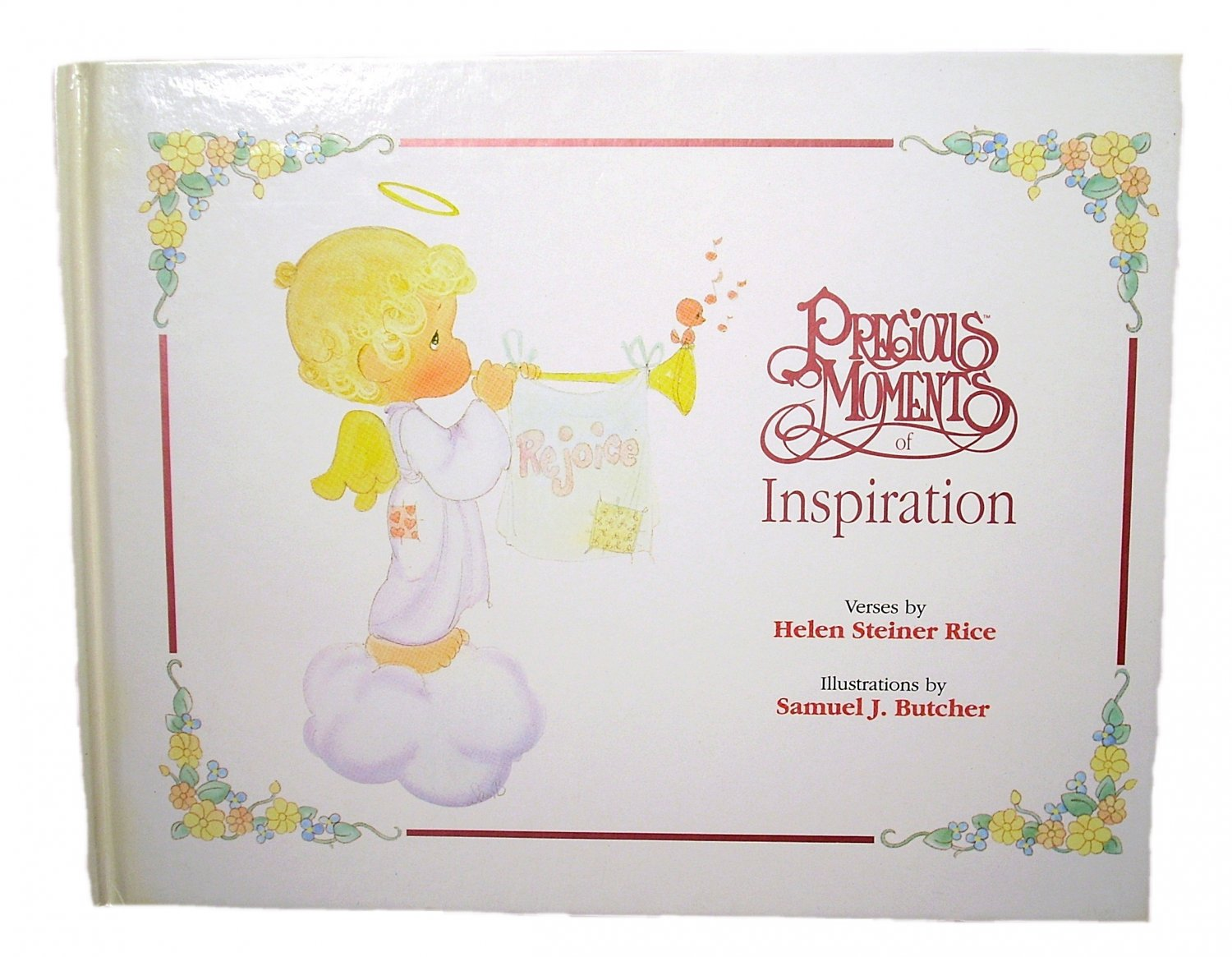 Precious Moments of Inspiration by Helen Steiner Rice Hardcover 1993
