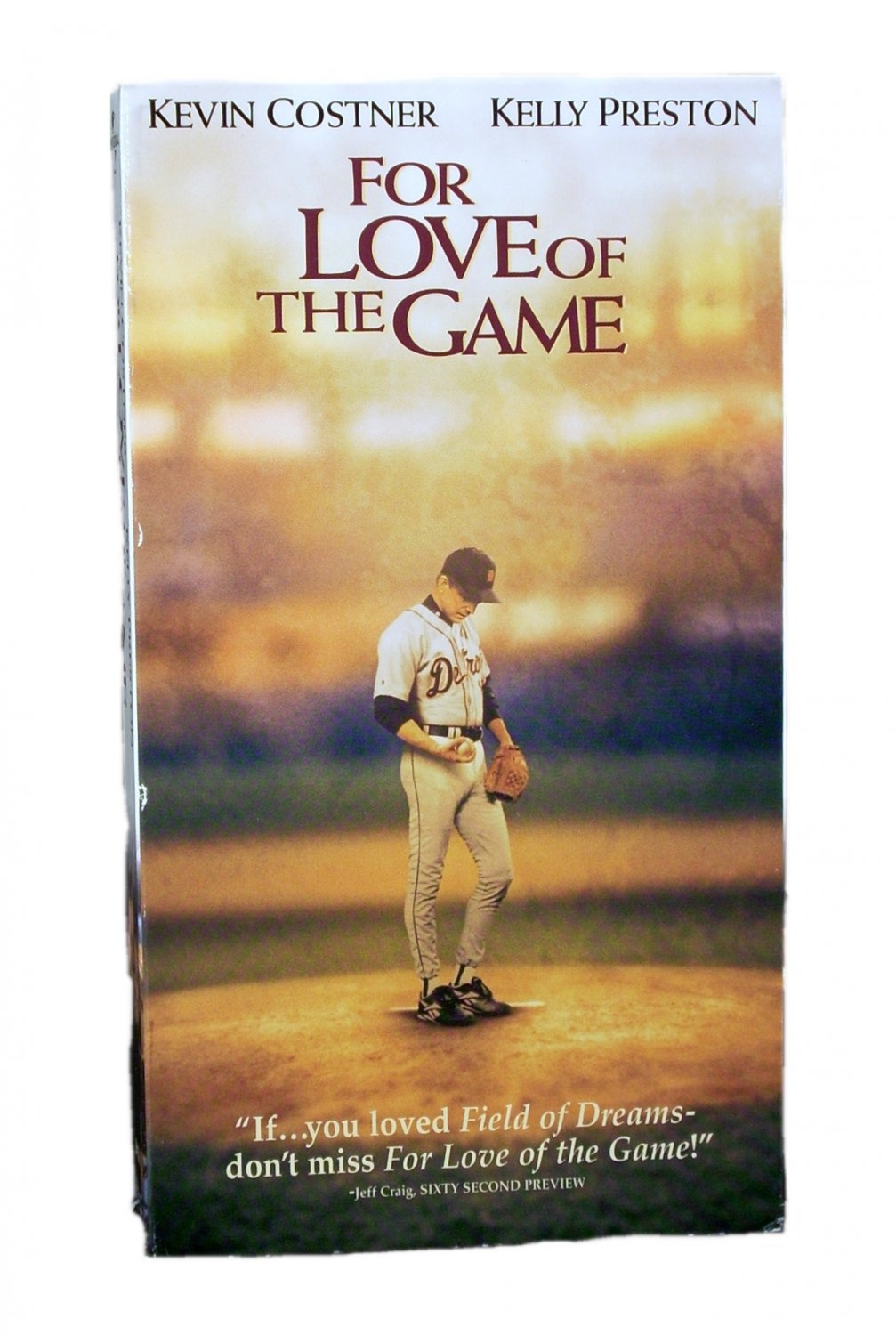 For Love of the Game VHS 2000