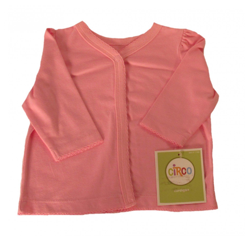 Circo Infant Girls Pink Long Sleeve Cardigan 3 Months