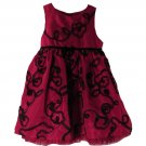 The Children's Place Toddler Girls Red Sleeveless Dress 4T