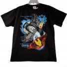 Marvel Iron Man 2 War Machine Kid Boys Black Short Sleeve T Shirt X-Large