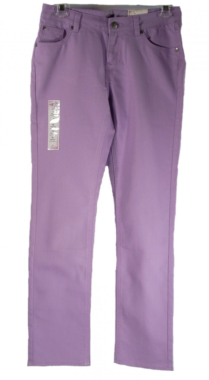 Total Girl Kid Girls Purple Skinny Jeans 14 Regular
