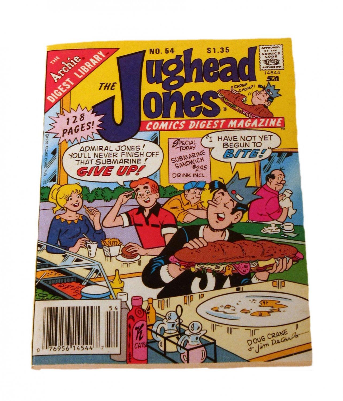 The Jughead Jones Comics Digest Magazine #54 December 1988