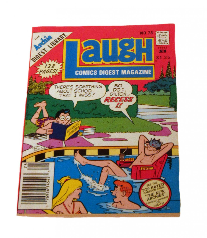 Laugh Comics Digest Magazine #78 September 1988