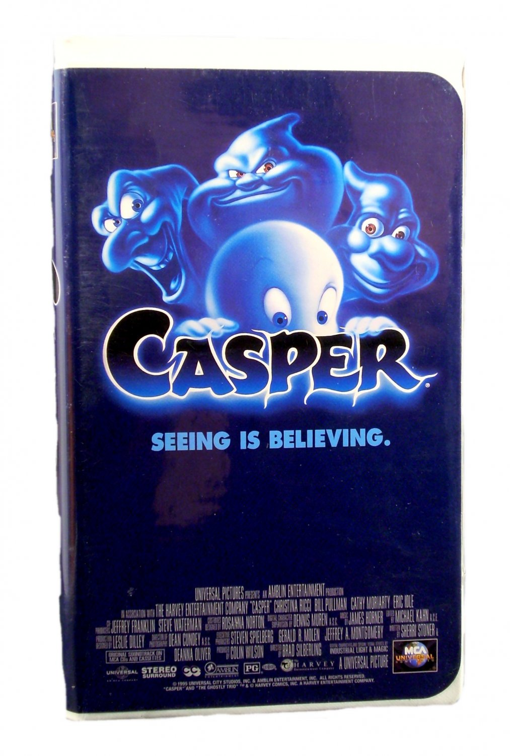 Casper Seeing Is Believing VHS 1997