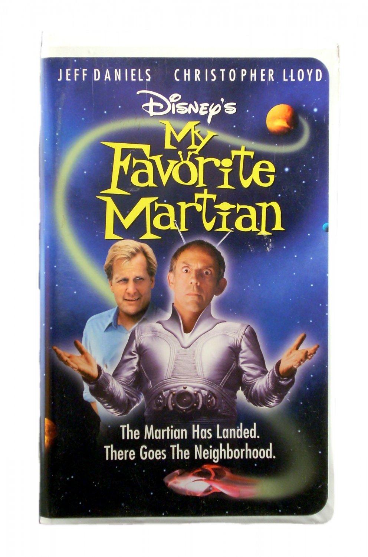 Disney's My Favorite Martian VHS 1999