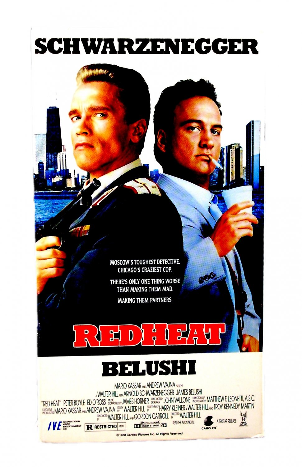 Red Heat VHS 1997