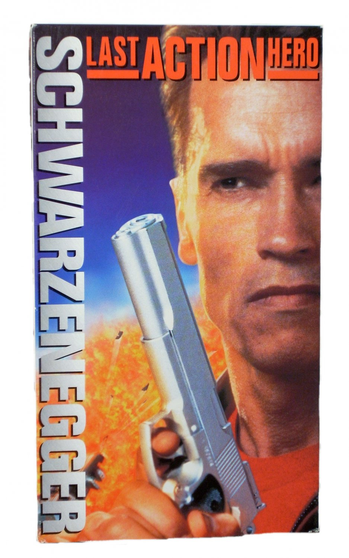 Last Action Hero VHS 1994