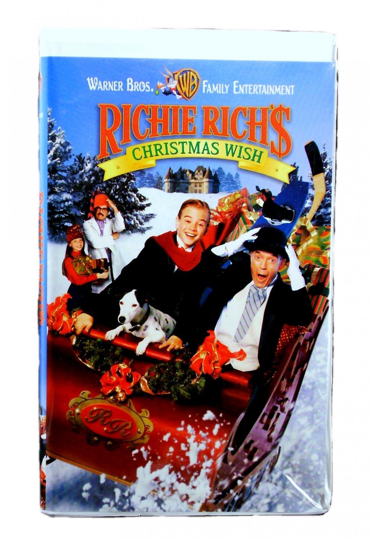 Richie Rich's Christmas Wish VHS 1998