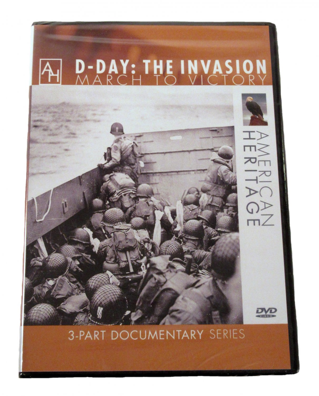 D-Day: The Invasion March to Victory DVD 2010 3-Part Documentary Series
