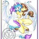 unicorn and dragoness