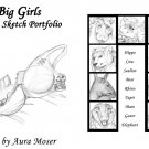 Big Girls Erotic Sketch Portfolio