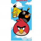 ANGRY BIRDS Beach Towel Personalized with Free Monogram