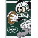 NFL Disney Quarterback Mickey Mouse New York JETS Beach Towel Free Monogram