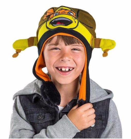 Teenage Mutant Ninja TMNT Turtles Green Flipeez Hat
