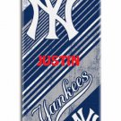 Baseball MLB New York YANKEES Beach Towel Stripes - Free Monogram