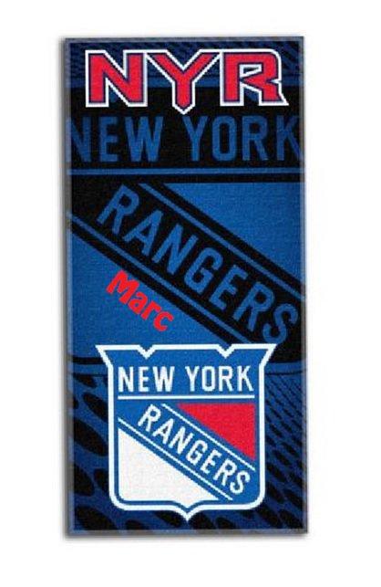 HOCKEY NHL New York RANGERS Beach Towel
