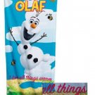 Disney Frozen OLAF Beach Towel FREE Monogram
