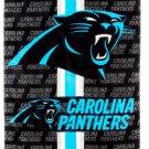Football NFL Carolina Panthers Beach Towel - Free Monogram