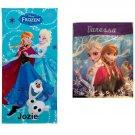 Disney Frozen Snowflake Swirl Anna Elsa Olaf Cotton Beach Towel & Tote  - Free Monogram