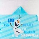 Kids Hooded Beach Towel Wrap Dinsey FROZEN OLAF