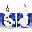 FROZEN OLAF Hooded Beach Towel Hooded Poncho Free Monogram