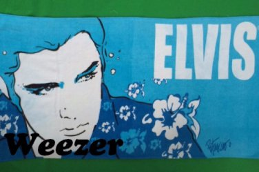 Elvis Presley Beach Towel Blue Hawaiian - Personalized