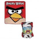 "ANGRY BIRDS 50"" x 60"" Plush Throw Blanket - Personalized Monogrammed"