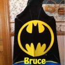 BOYS Hooded Towel Bath Wrap – BATMAN Personalized