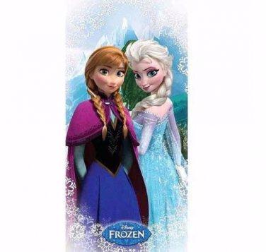 Disney Frozen Anna & Elsa Beach Towel Personalized