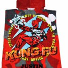Jungle Fury POWER RANGERS Boy's Hooded Towel Poncho – Personalized
