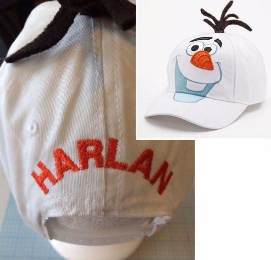 Disney's FROZEN OLAF Kids Baseball Cap Hat Personalized