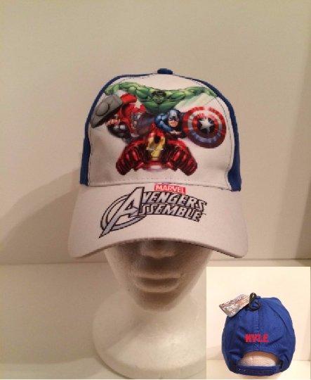 Marvel Avengers Assemble Kids Cap Boy's Baseball Cap - Personalized