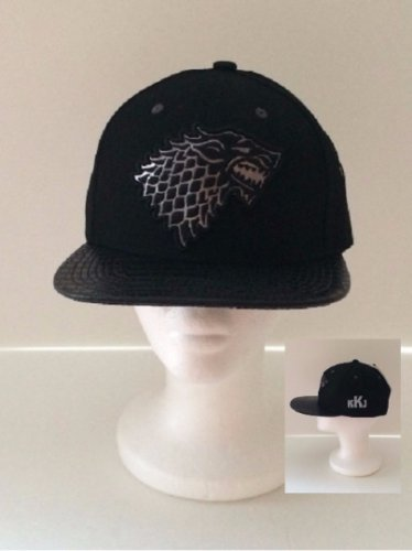 Game of Thrones House Stark Snapback Cap - Men Personalized