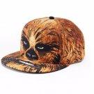 Star Wars Chewbacca Baseball Hat Flatbill Cap – Boys – Personalized