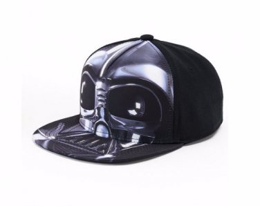 Star Wars Darth Vader Baseball Hat Black Flatbill Cap � Boys � Personalized