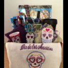 Day of the Dead Sugar Skull Gift Basket