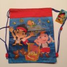 Disney Jake and the Never Land Pirates Drawstring Backpack Sling Bag Personalized