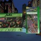 TMNT Teenage Mutant Ninja Turtles 3 Ring Binder Pencil Case Pouch - Monogrammed