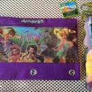 Tink Tinkerbell Fairies 3 Ring Binder Pencil Case Pouch - Monogrammed