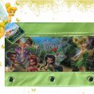 Tink Tinkerbell Fairies 3 Ring Binder Pencil Case Pouch Green - Monogrammed