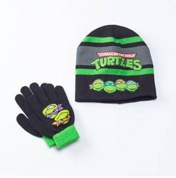 TMNT Teenage Mutant Ninja Turtles Hat & Glove Set - Boys - Personalized