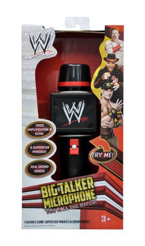 WWE Big Talker Microphone 2