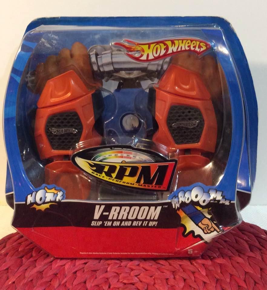 Mattel 3599853 Hot Wheels Power Rev RGloves