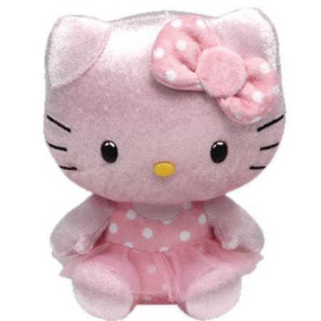 Ty Hello Kitty Beanie Babies � 8 in � Pink Shimmer 41020