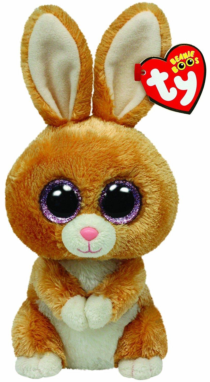 Ty Beanie Boos Carrots Brown Bunny Plush 36106
