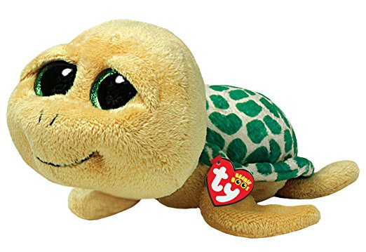 Ty Beanie Boos Pokey - Yellow Turtle 36097