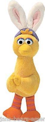 Gund - Sesame Street - Big Bird Easter Clip-on - 6 inch