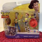 Disney Toy Story Poseable Action Figure Basics 2 Pack Sheriff Woody & Jessie