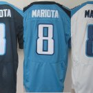Marcus Mariota Tennessee Titans #8 Replica Football Jersey Multiple styles